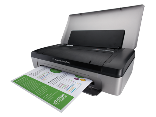HP Officejet 100 Mobile Printer-36864
