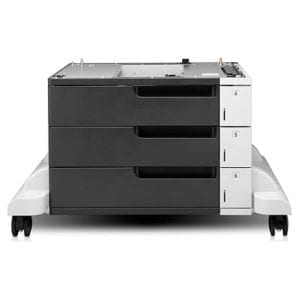 HP LaserJet 3x500 Sheet Feeder and Stand - -0