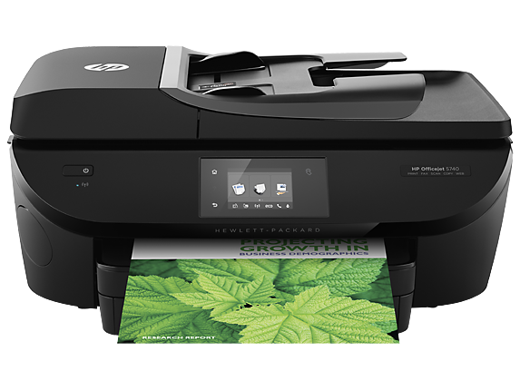 HP Officejet 5740 e-All-in-One Printer - B9S76A-0