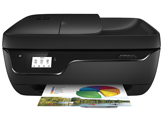 HP OfficeJet 3830 All-in-One Printer - K7V40A-41400