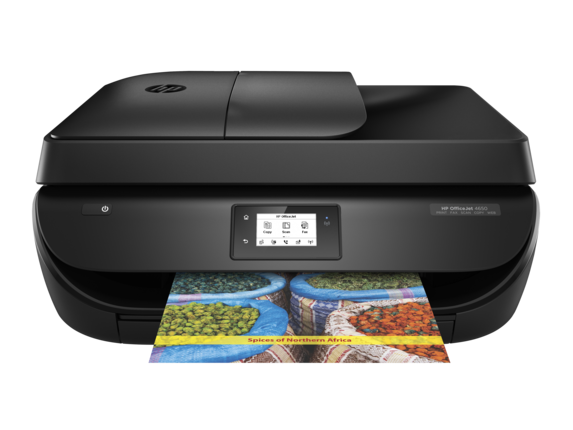 HP OfficeJet 4650 All-in-One Printer - F1J03A-0