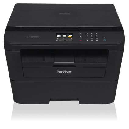 Brother HL-L2380DW Versatile Laser Printer with Wireless Networking and Duplex - HL-L2380DW-41878