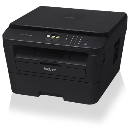 Brother HL-L2380DW Versatile Laser Printer with Wireless Networking and Duplex - HL-L2380DW-0