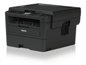 Brother HL-L2395DW Monochrome Laser Printer with Convenient Flatbed Copy & Scan, Duplex and Wireless Printing - HL-L2395DW-0