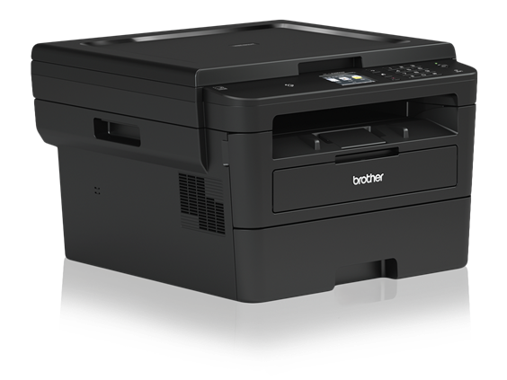 Brother HL-L2395DW Monochrome Laser Printer with Convenient Flatbed Copy & Scan, Duplex and Wireless Printing - HL-L2395DW-41761