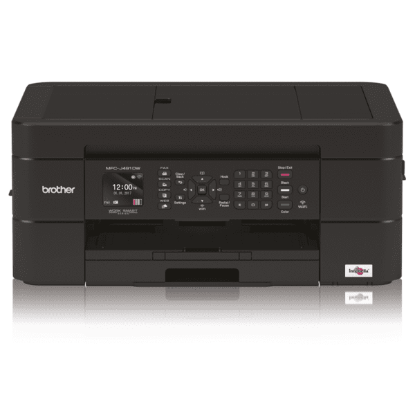 Brother MFC-J491DW Wireless Color Inkjet All-in-One Printer with Mobile Device and Duplex Printing - MFC-J491DW-41823