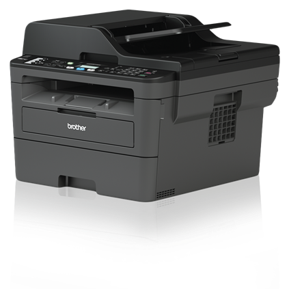 Brother MFC-L2710DW Monochrome Compact Laser All-in-One Printer with Duplex Printing and Wireless Networking - MFC-L2710DW-0