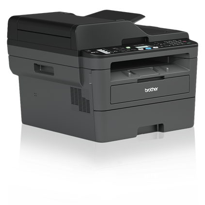 Brother MFC-L2710DW Monochrome Compact Laser All-in-One Printer with Duplex Printing and Wireless Networking - MFC-L2710DW-41757