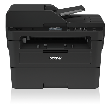 Brother MFC-L2750DW Compact Laser All-in-One Printer with Single-pass Duplex Copy and Scan, Wireless and NFC - MFC-L2750DW-41766