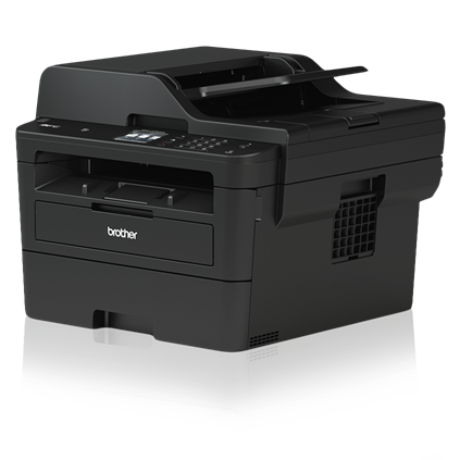 Brother MFC-L2750DW Compact Laser All-in-One Printer with Single-pass Duplex Copy and Scan, Wireless and NFC - MFC-L2750DW-0