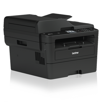Brother MFC-L2750DW Compact Laser All-in-One Printer with Single-pass Duplex Copy and Scan, Wireless and NFC - MFC-L2750DW-41767