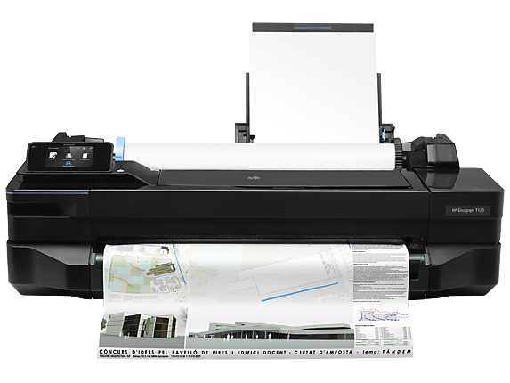 HP Designjet T120 24-in Printer - CQ891A