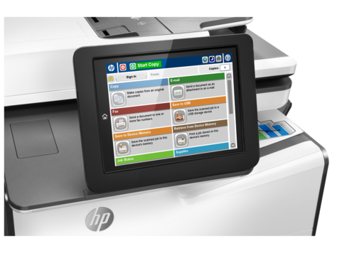 HP PageWide Enterprise Color MFP 586f - G1W40A-42144